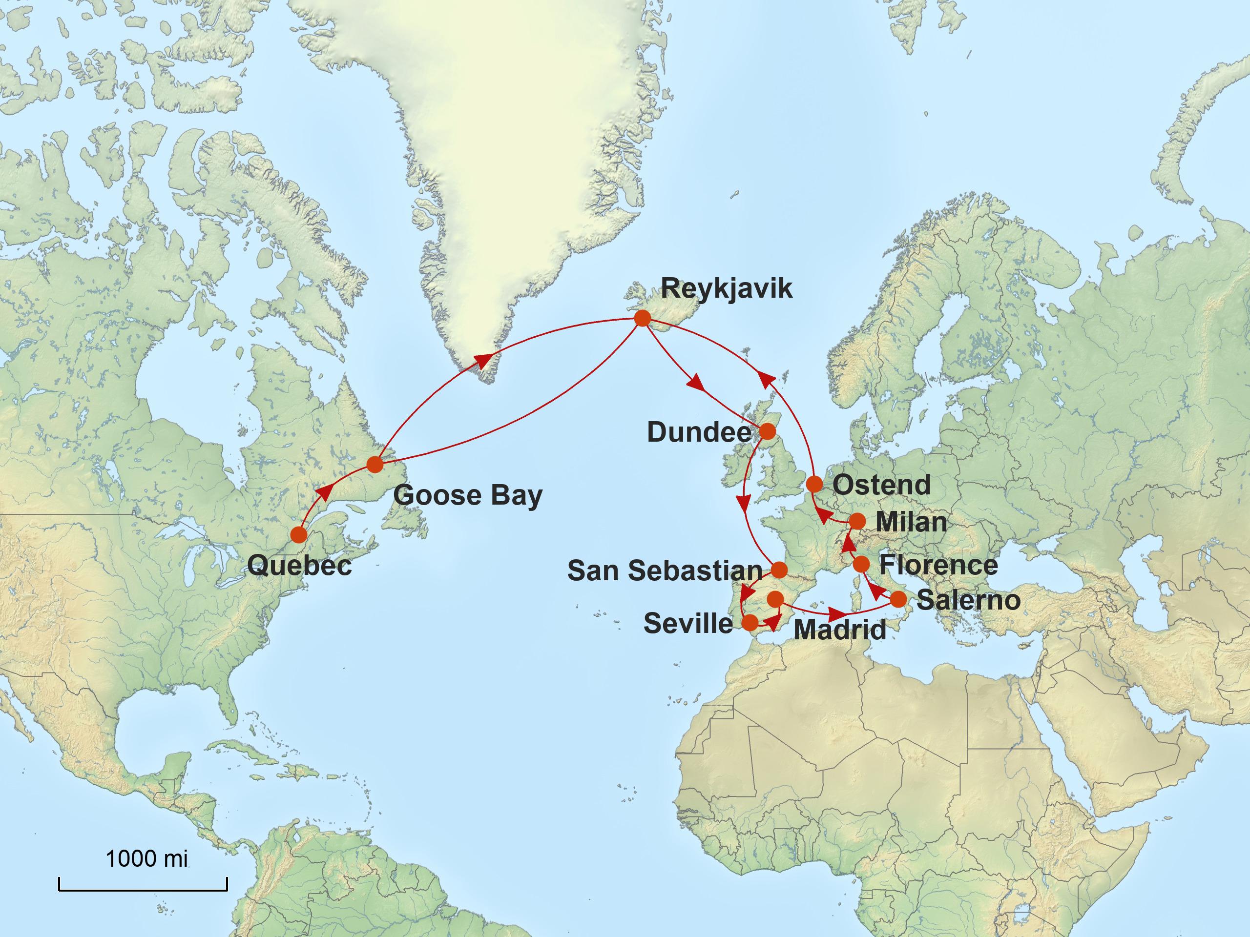 Stepmap Karte Europe May 2018 V3 Jpg Air Journey